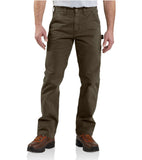 Carhartt B324 Washed Twill Dungaree Dark Coffee