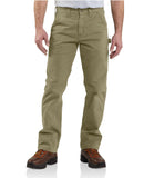 Carhartt B324 Washed Twill Dungaree Dark Khaki