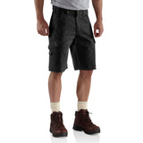 Carhartt B357 Ripstop Work Short Black