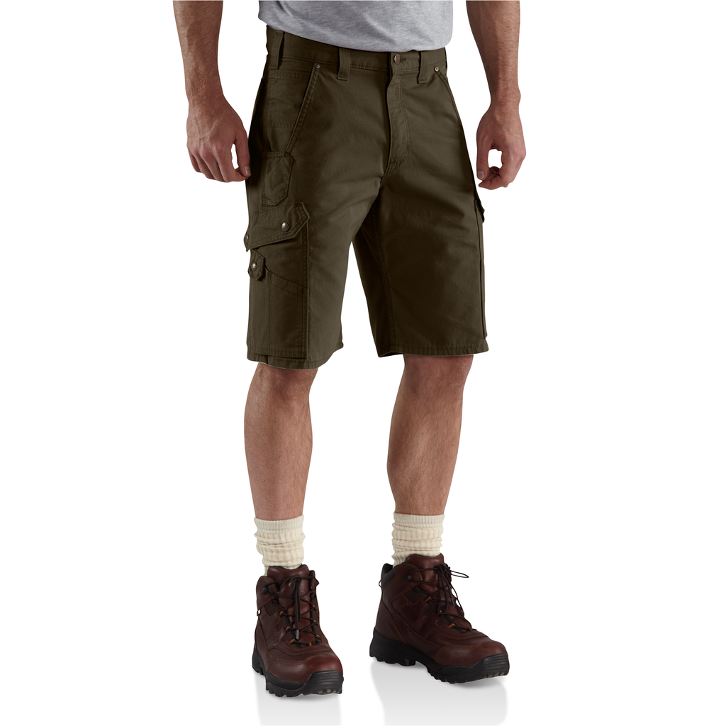 Carhartt B357 Ripstop Work Short Dark Coffee