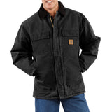 Carhartt C26 Sandstone Traditional Coat Black
