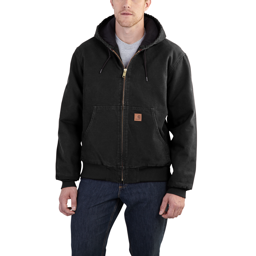Carhartt J130 Sandstone Active Jacket Black