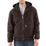 Carhartt J130 Sandstone Active Jacket Dark Brown
