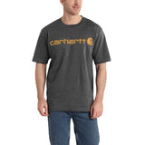 Carhartt K195 Logo T-Shirt Carbon Heather