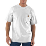 Carhartt K87 Pocket T-Shirt White