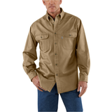 Carhartt S09 Sandstone Twill Shirt Cottonwood