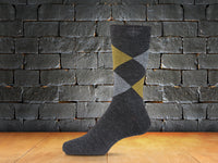 8481 Men's Argyle Criss-Cross Sock