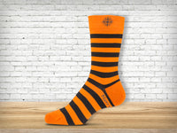 8495 Bold Striped Merino Socks