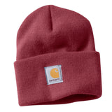 Carhartt WA018 Women's Watch Hat Beanie Cherry Stone