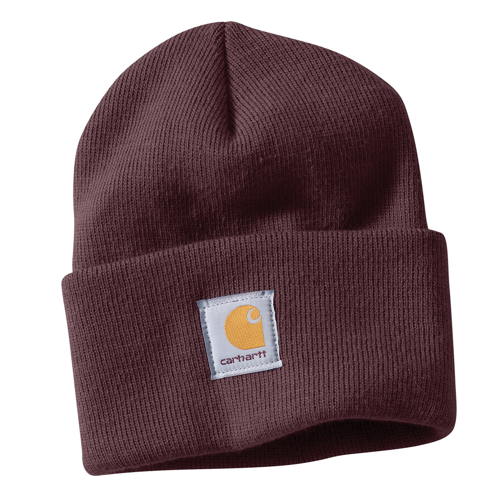 Carhartt WA018 Women's Watch Hat Beanie Deep Wine