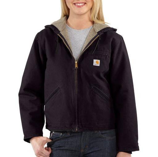 Carhartt WJ141 Women's Sandstone Jacket Deep Wine