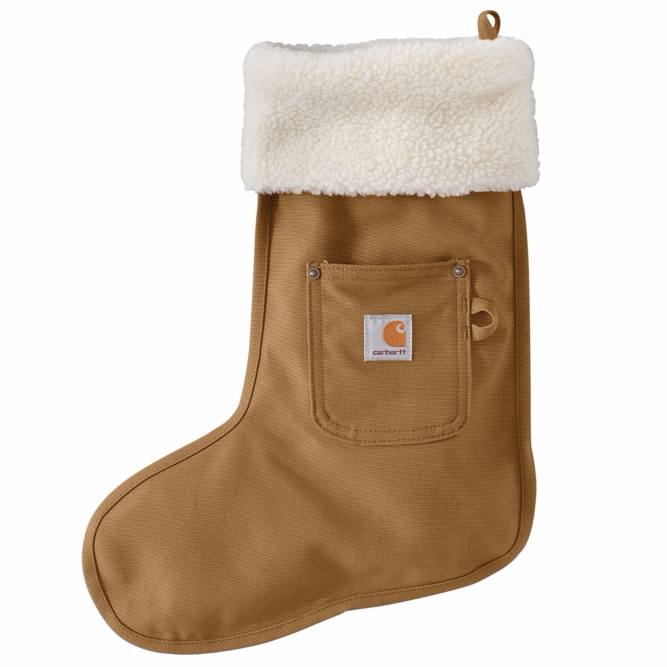 Carhartt Iconic Christmas Stocking Brown