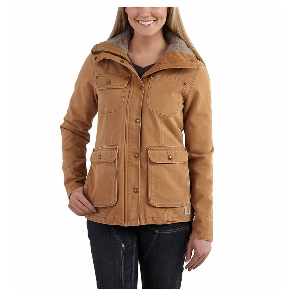 Womens Weathered Duck Wesley Coat