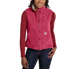 Carhartt WV001 Women's Sherpa Lined Vest Crab Apple