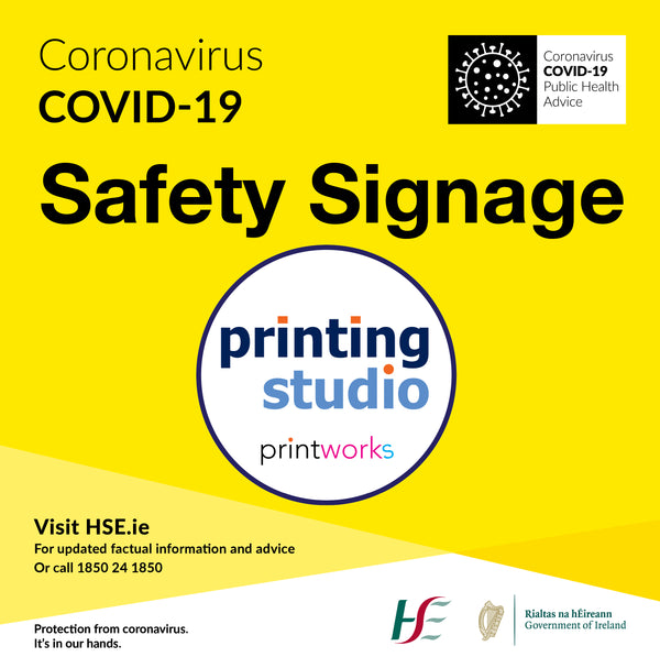 Covid-19 Safety Signage