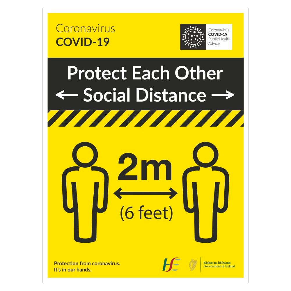 Protect Each Other Social Distance | Code 020
