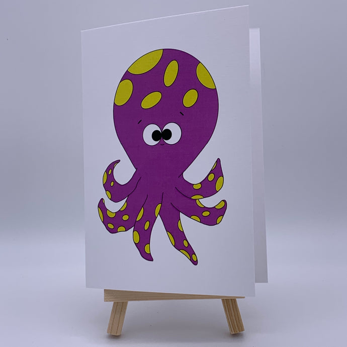Octo | Greeting Card