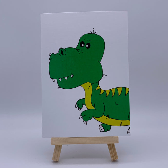 Gasosaurus | Greeting Card