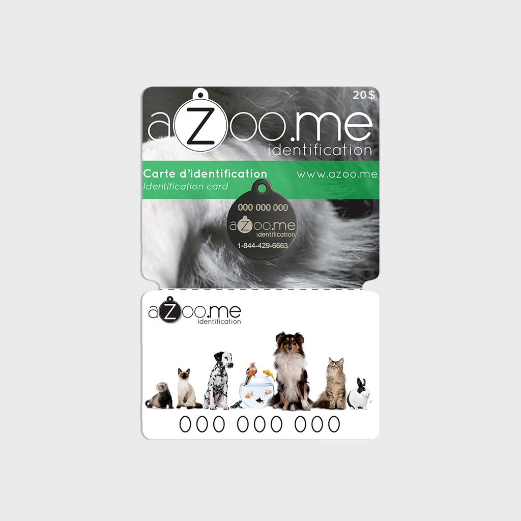aZoo.me ID Replacement card - aZoo.me Webstore