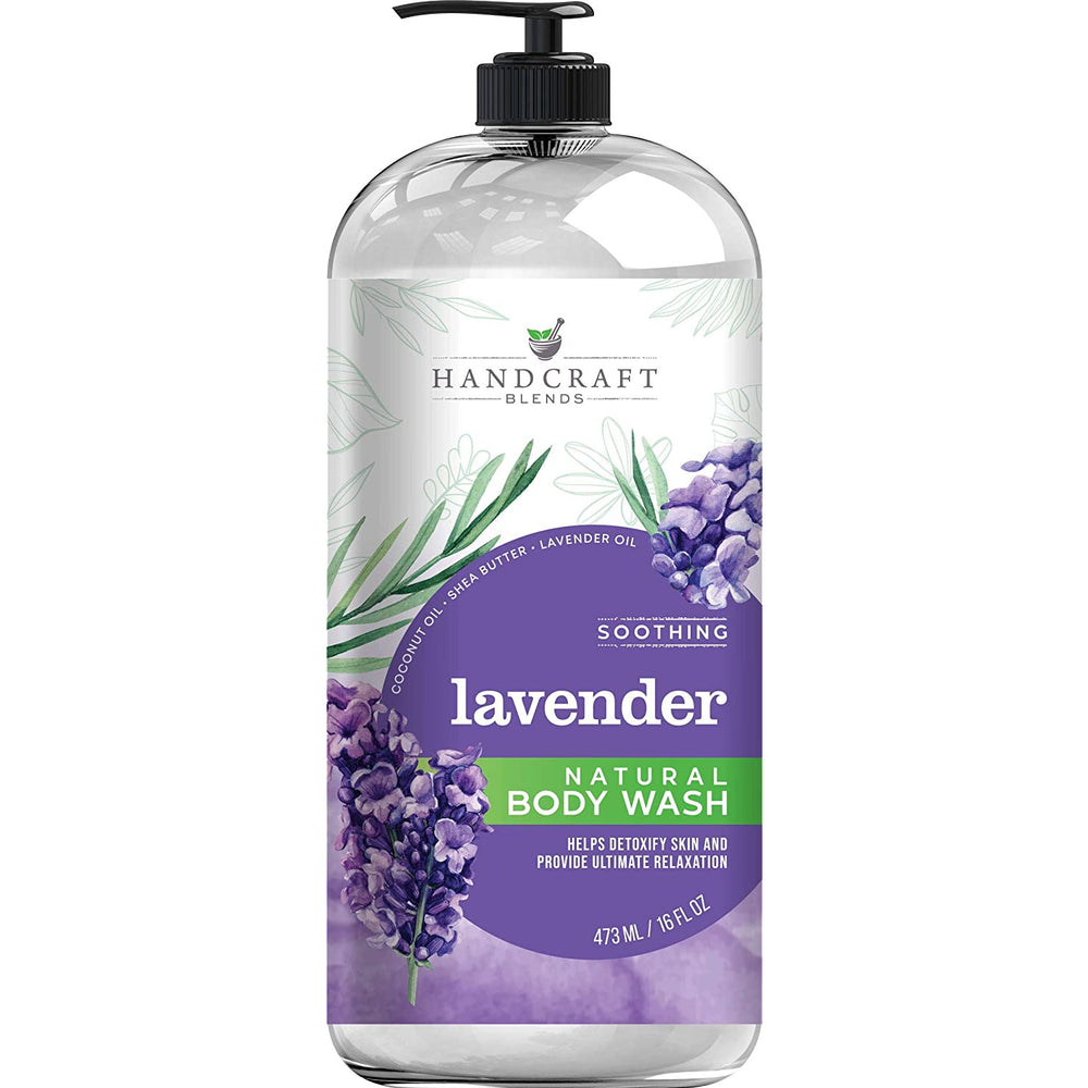 Load image into Gallery viewer, Lavender Body Wash 16 oz
