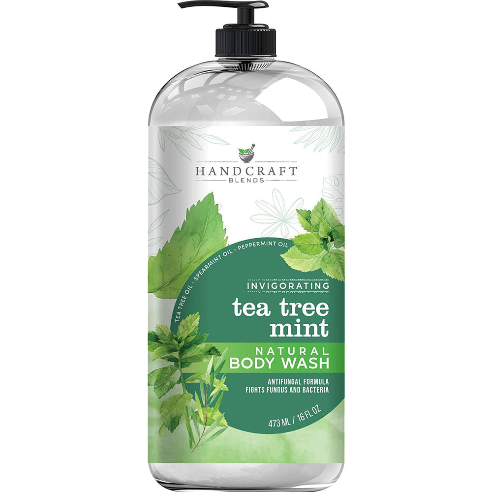 Tea Tree Mint Body Wash 16 oz