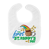 St. Patricks Day - Baby Bib - My First St. Patricks Say