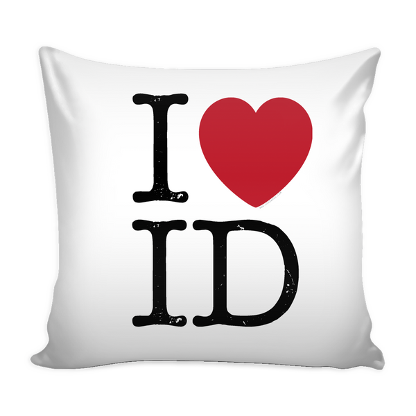 I Love Idaho PIllow Case