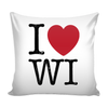 I love Wisconsin Pillow Case