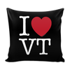 I Love Vermont Pillow Case