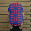 Red Circle Donut Giant Face Cushion