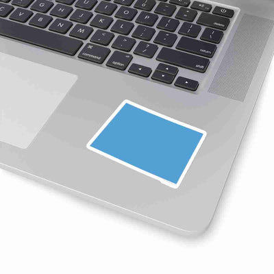 Colorado State Shape Sticker LIGHT BLUE