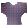 Red Circle Donut Sublimation Batwing Top