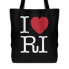 I Love Rhode Island Tote Bag