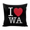 I Love Washington Pillow Case