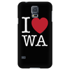 I Love Washington Phone Case Galaxy S5