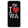 I Love Washington Phone Case Galaxy S6 Edge