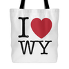 I Love Wyoming Tote Bag