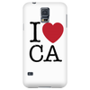 I Love California Phone Case