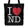 I Love North Dakota Tote Bag