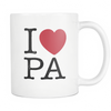 I Love Pennsylvania Mug