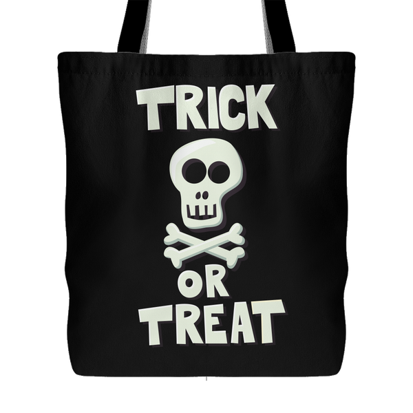 Halloween Trick or Treat Halloween Tote Bag