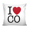 I Love Colorado PIllow Case