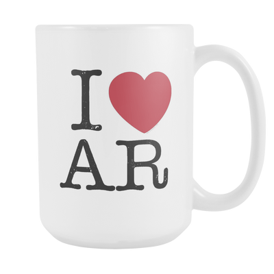 I Love Arkansas Mug