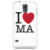 I Love Massachusetts Phone Cases