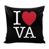I Love Virginia Pillow Case