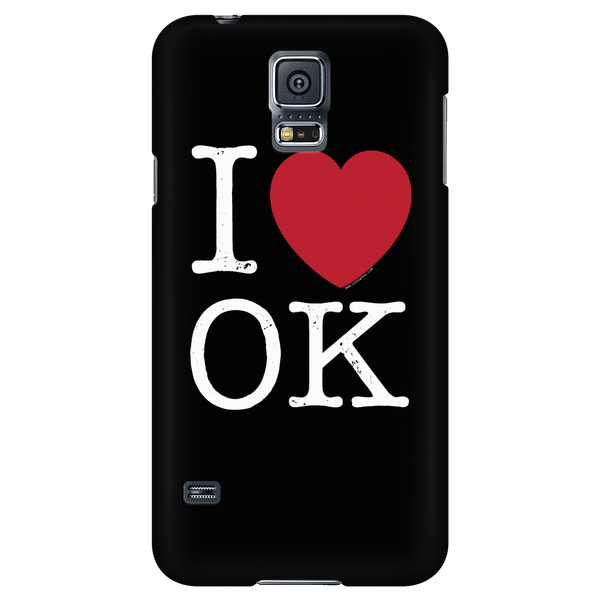 I Love Oklahoma Phone Case