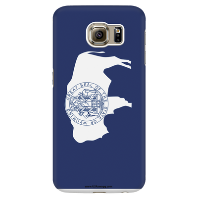 Wyoming State Flag Phone Case