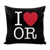 I Love Oregon Pillow Case