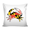 Maryland Crab Flag Pillow Case