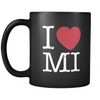 I Love Michigan Mug